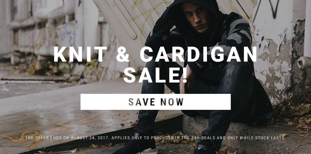 Knit & Cardigans Sale