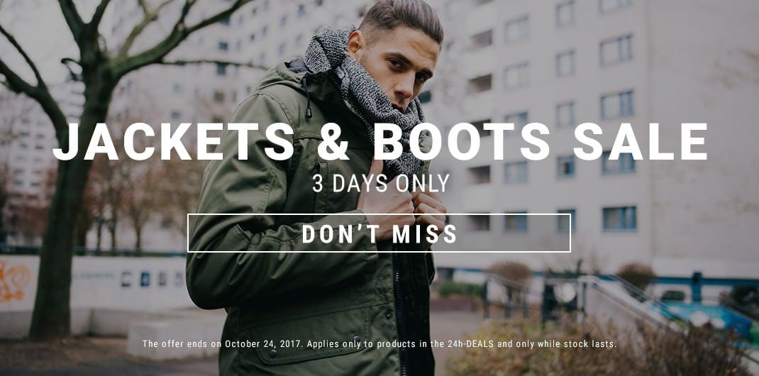 Jackets & Boots Sale Unisex