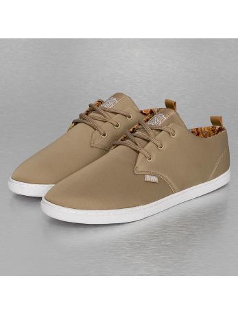 Djinns Twill And Paisley Low Lau Sneakers Khaki