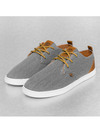 Djinns Washed Canvas Low Lau Sneakers Grey
