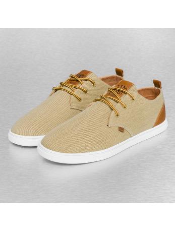 Djinns Washed Canvas Low Lau Sneakers Khaki