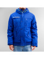 Stitch Soul Honeycomb Jacket Blue