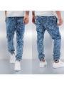 Urban Classics Stretch Denim Sweat Pants Acid Blue