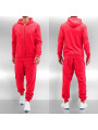 Dehash Basic Sweat Suit Red Melange