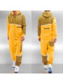 Dangerous DNGRS All Over II Sweat Suit Yellow