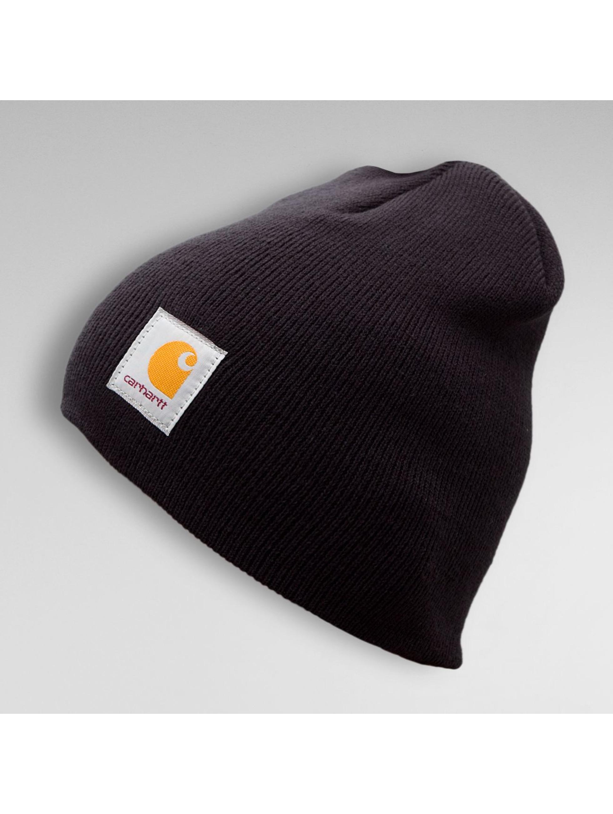 carhartt wip accessoires bonnet acrylic knit en noir 106858. Black Bedroom Furniture Sets. Home Design Ideas