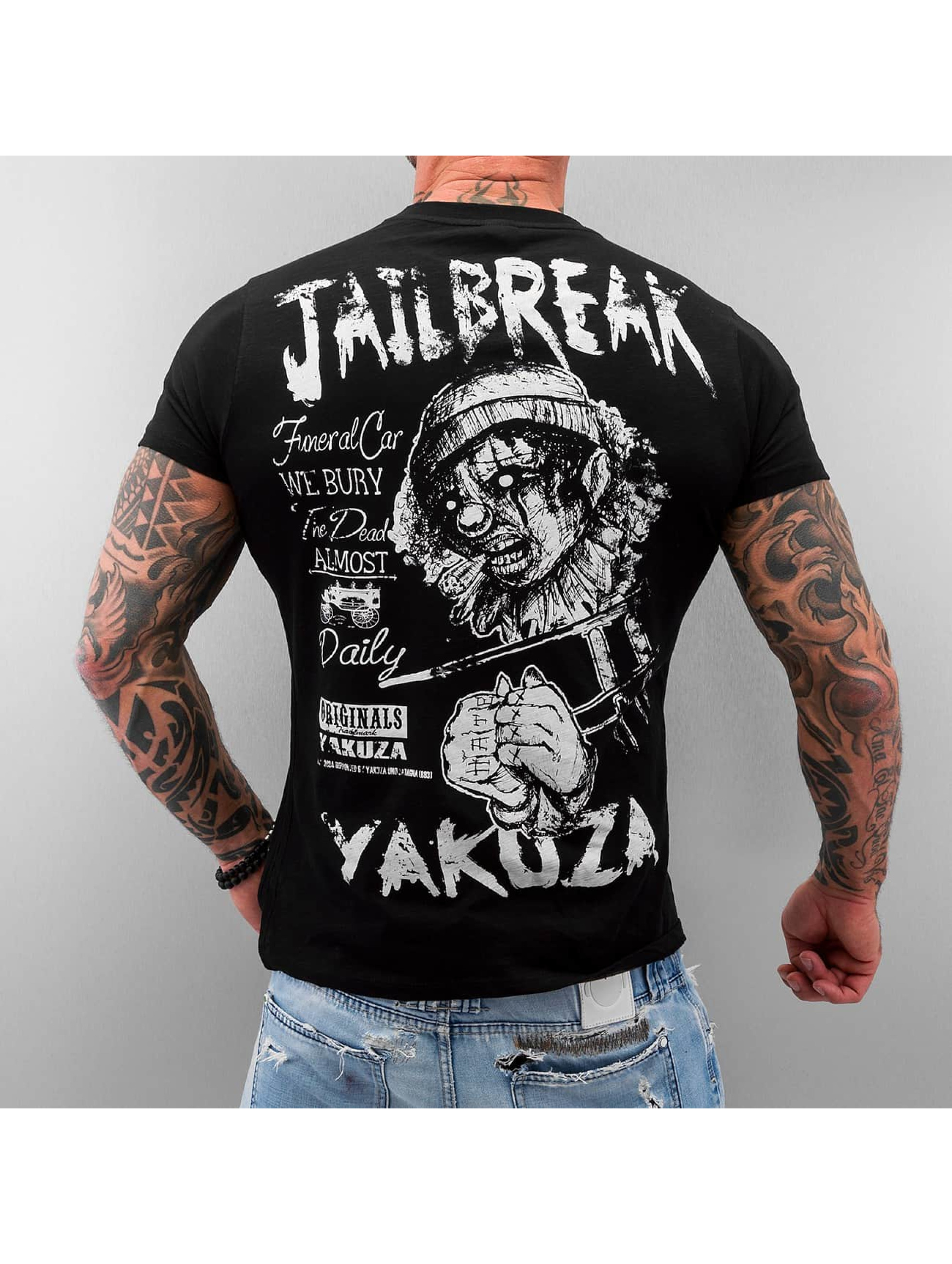 yakuza herren t shirt jailbreak ebay. Black Bedroom Furniture Sets. Home Design Ideas