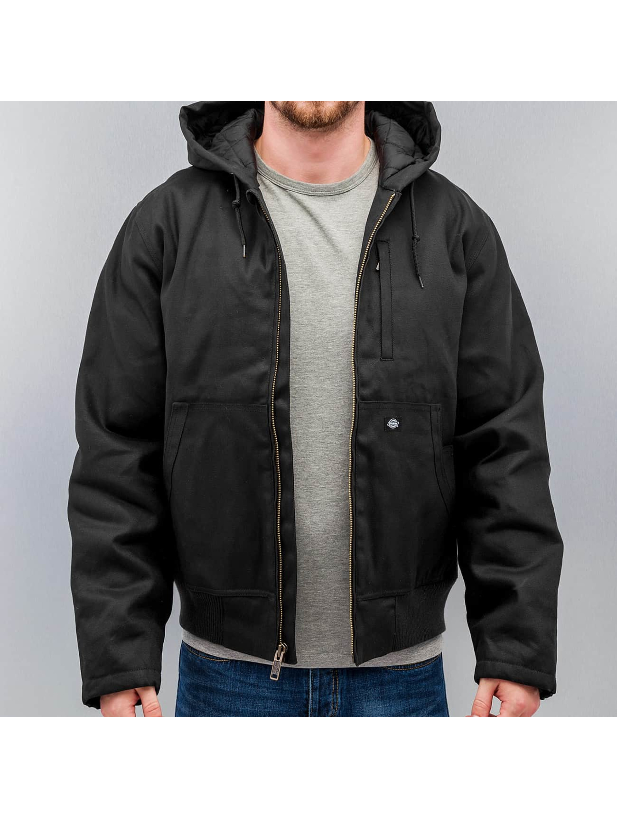Jacke schwarz Nylon Jacken dickies