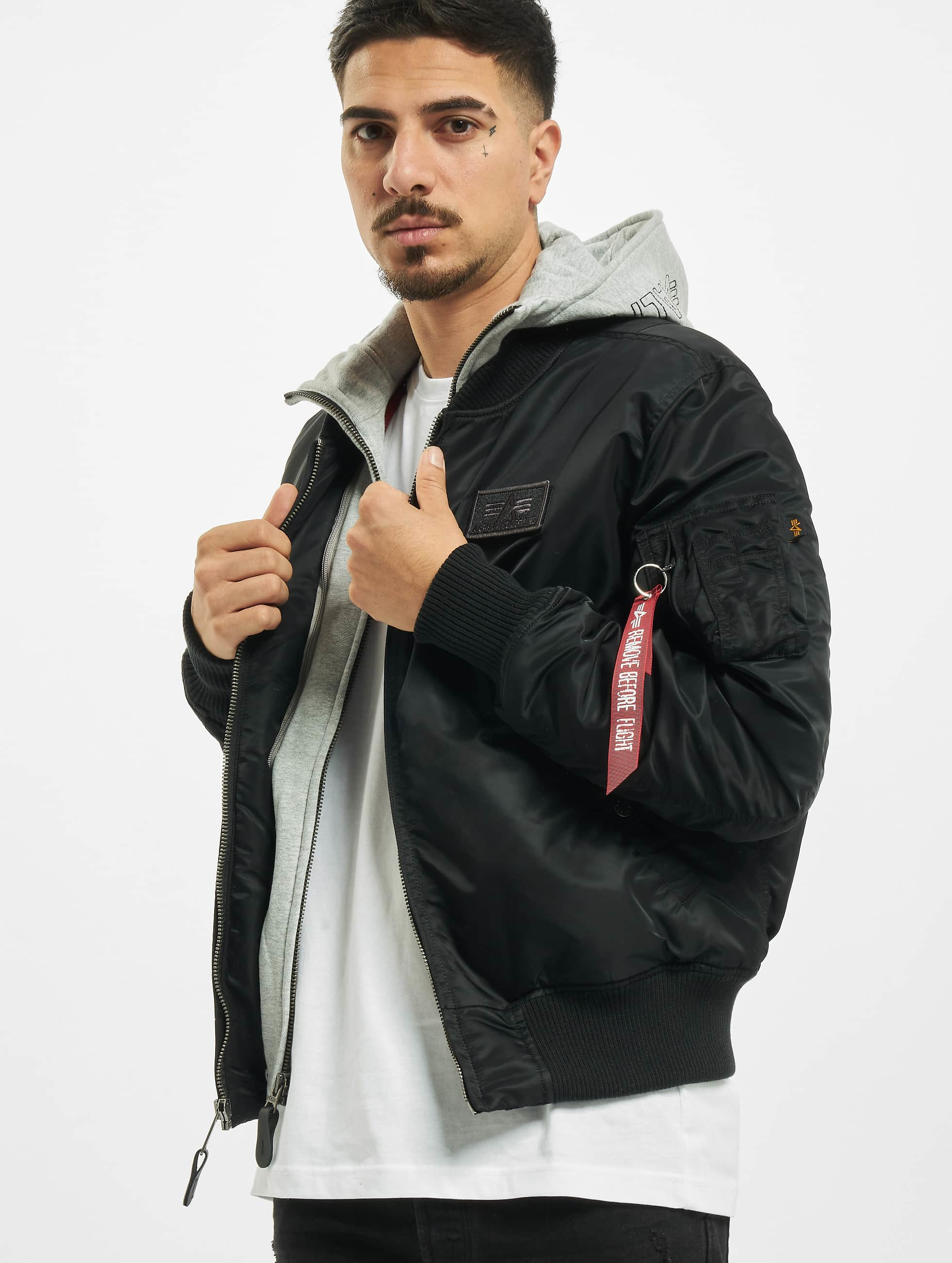 alpha industries jacke winterjacke ma 1 d tec bomber. Black Bedroom Furniture Sets. Home Design Ideas