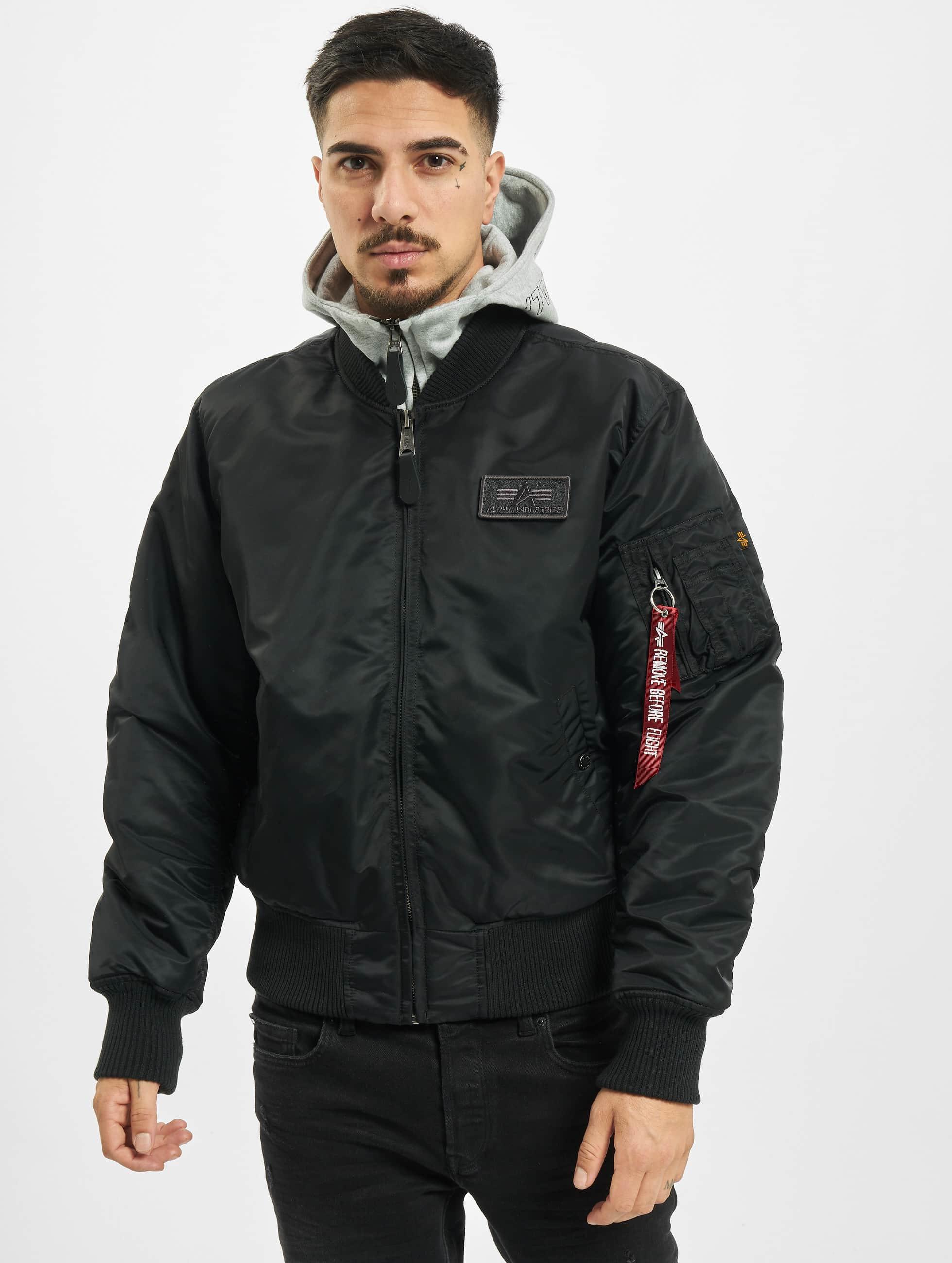 alpha industries herren winterjacke ma 1 d tec bomber jacket ebay. Black Bedroom Furniture Sets. Home Design Ideas