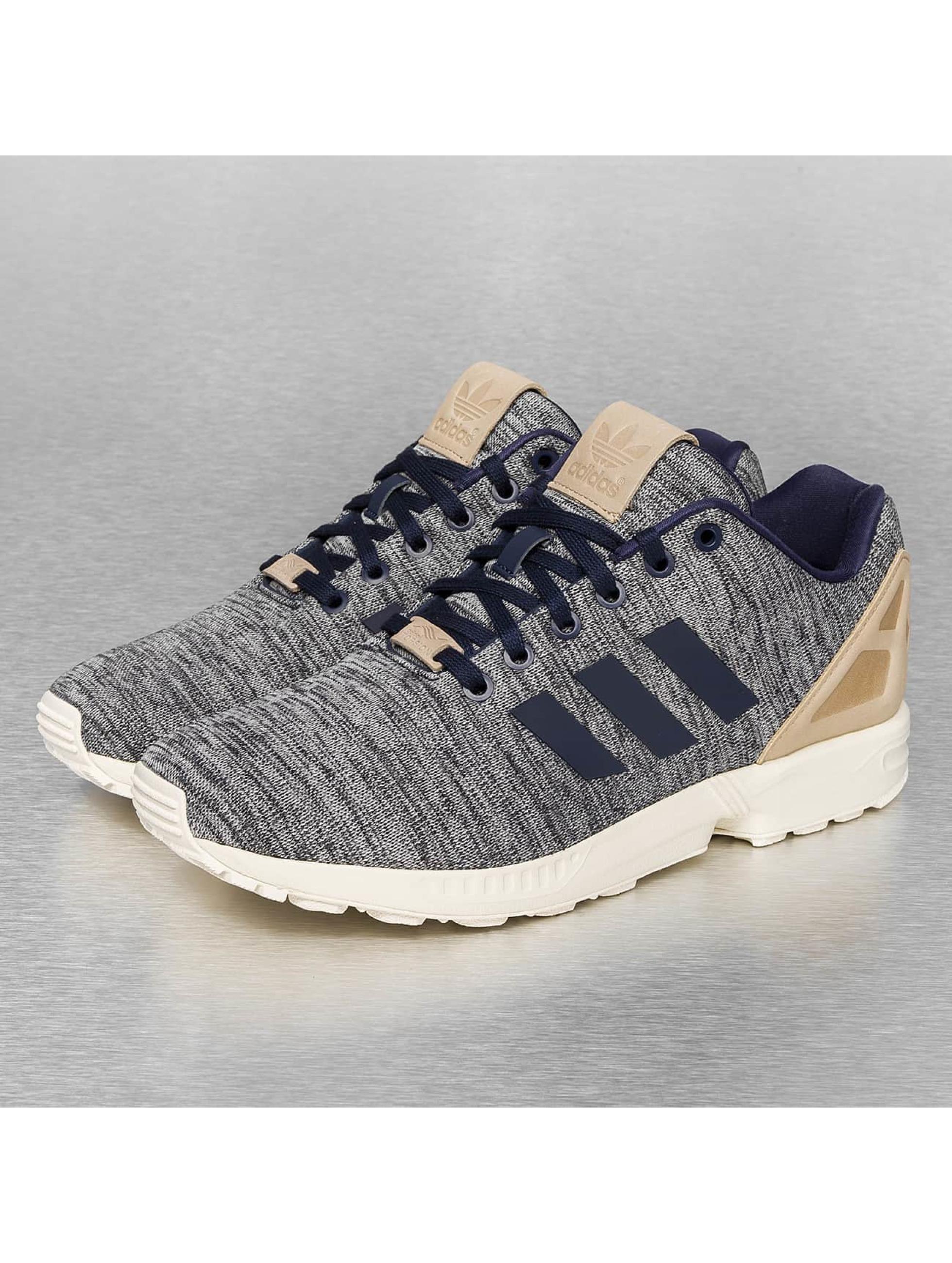 adidas schuhe sneaker zx flux in blau 243329. Black Bedroom Furniture Sets. Home Design Ideas