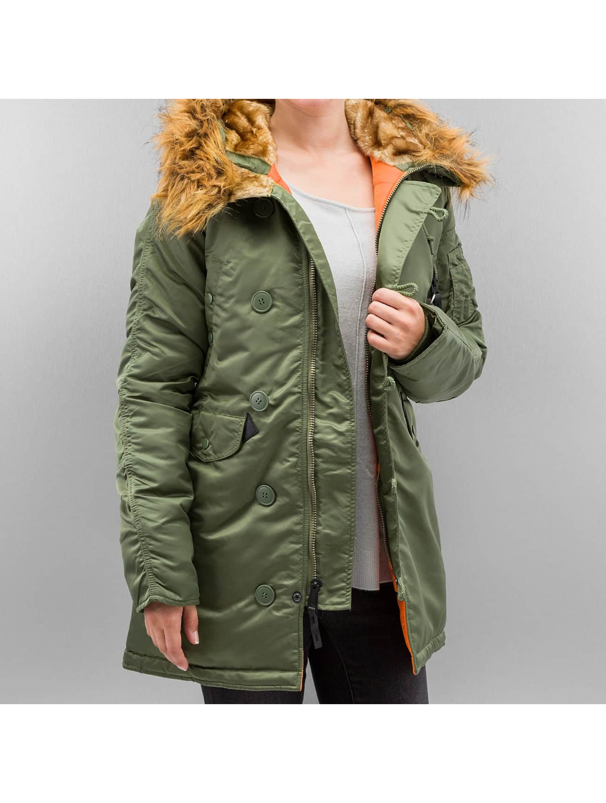 alpha industries damen jacken winterjacke n3b vf 59 ebay