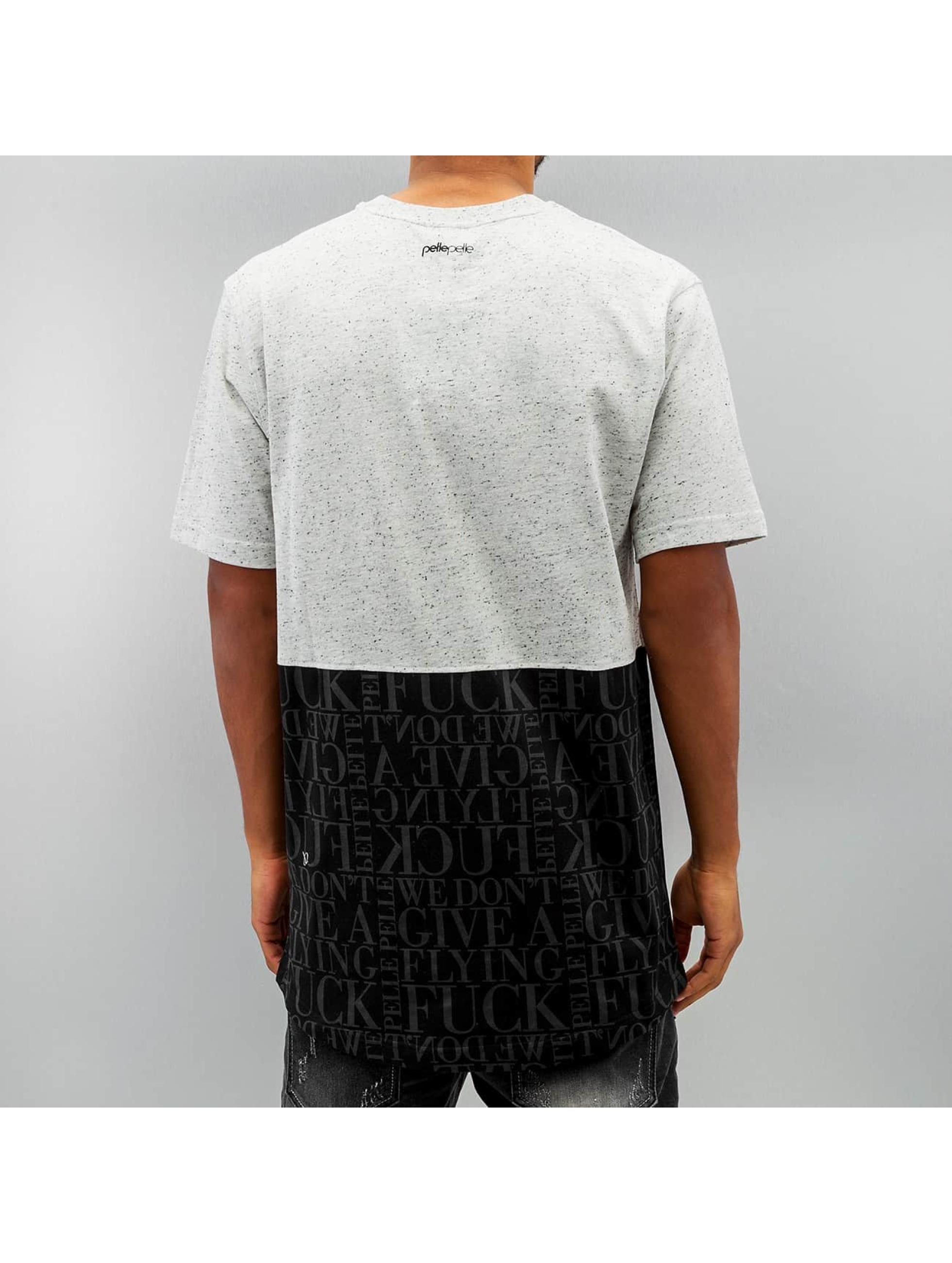 Pelle-Pelle-Uomini-Maglieria-T-shirt-Half-Measures