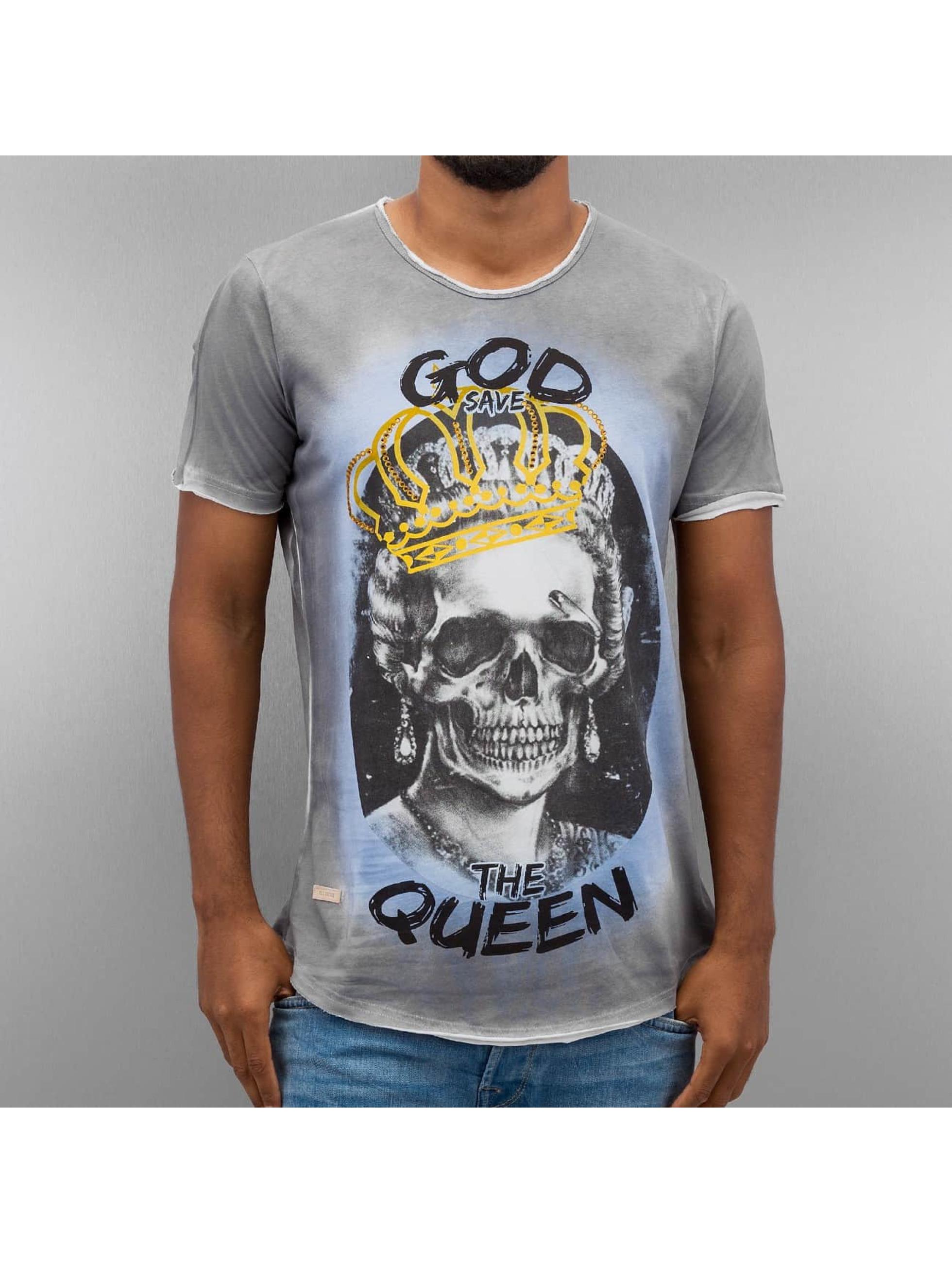 Red-Bridge-Uomini-Maglieria-T-shirt-God-Save-The-Queen
