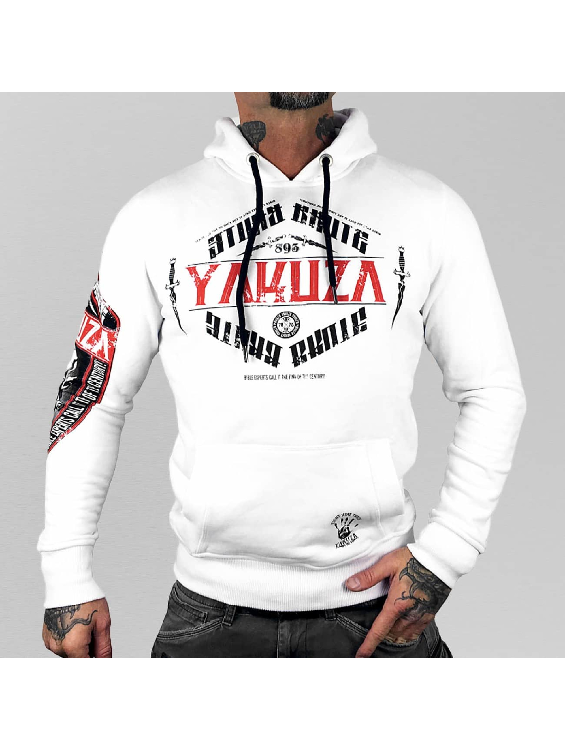 Yakuza-Uomini-Maglieria-Felpa-con-cappuccio-Brute-Devil