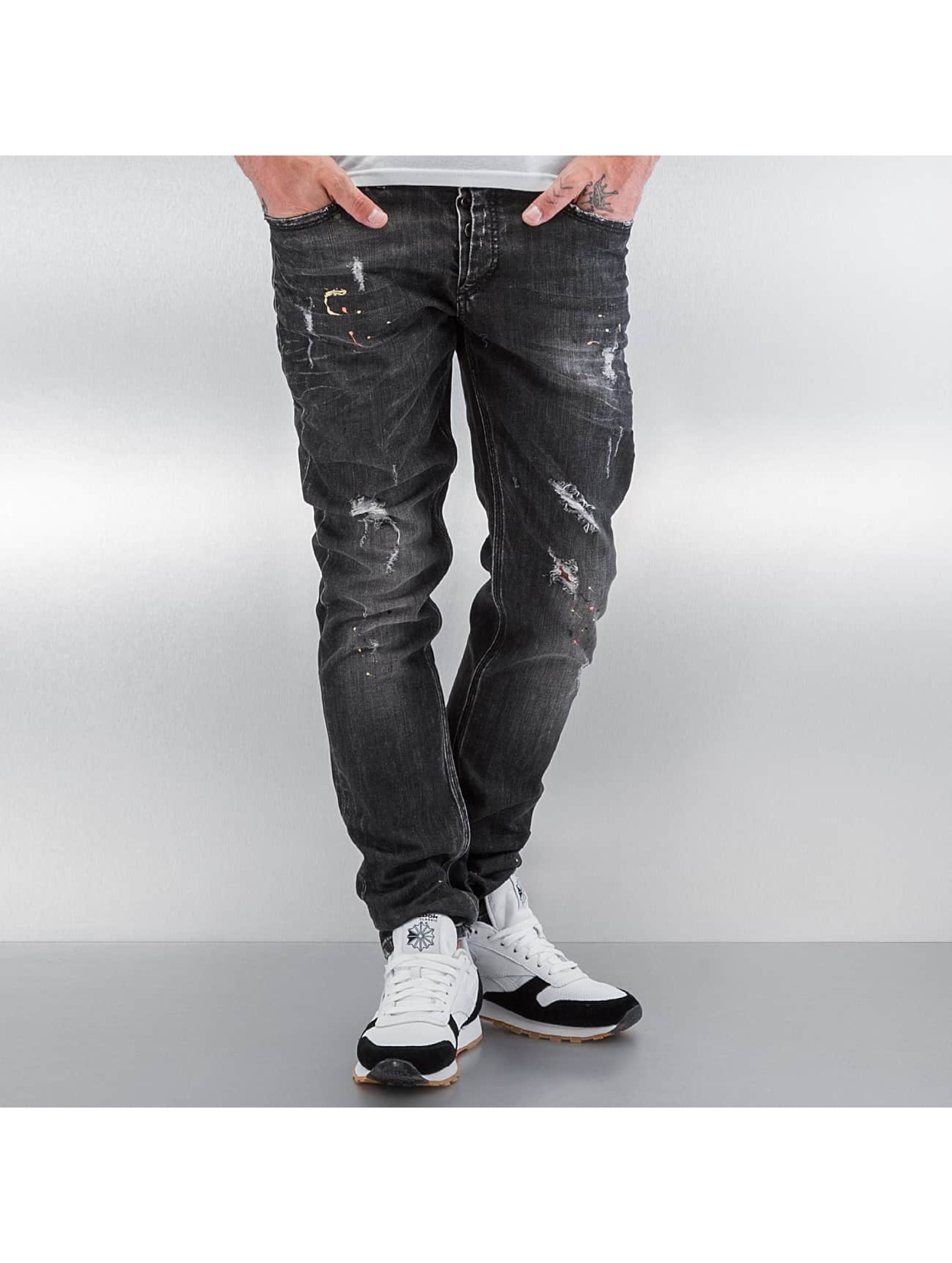 Pascucci-Uomini-Jeans-Jeans-straight-fit-Purs