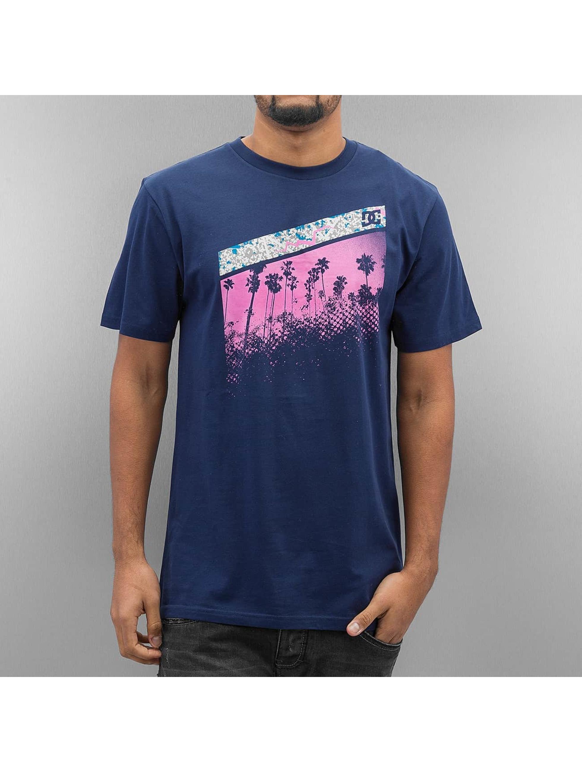 DC-Uomini-Maglieria-T-shirt-Assault-blu-301994-M