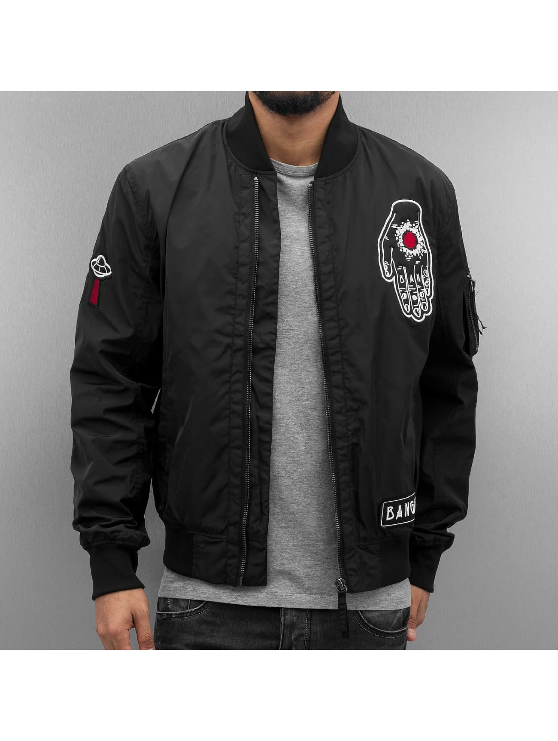 Bangastic Bomber jacket Believer black