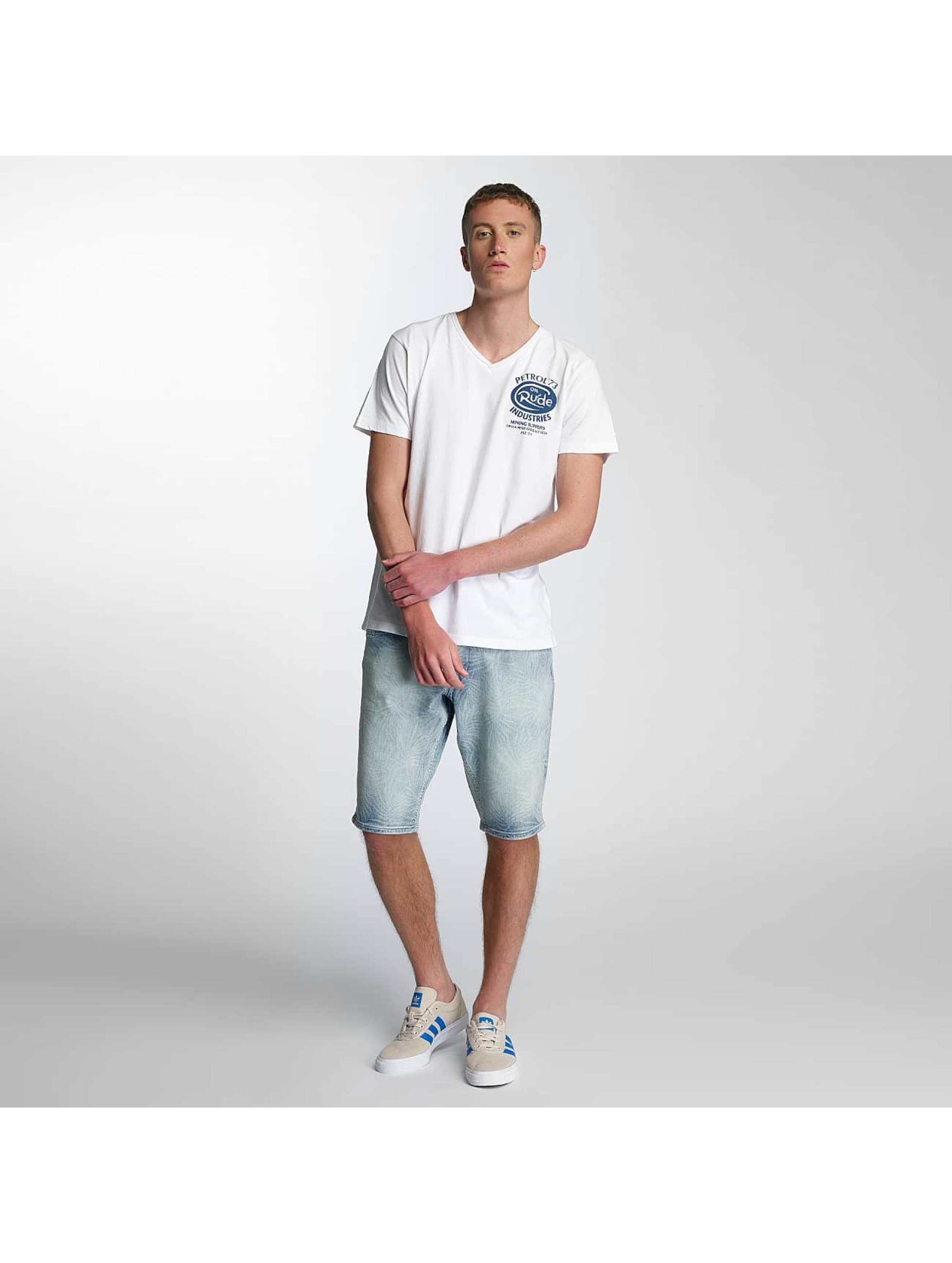 Petrol-Industries-Uomini-Maglieria-T-shirt-Rude