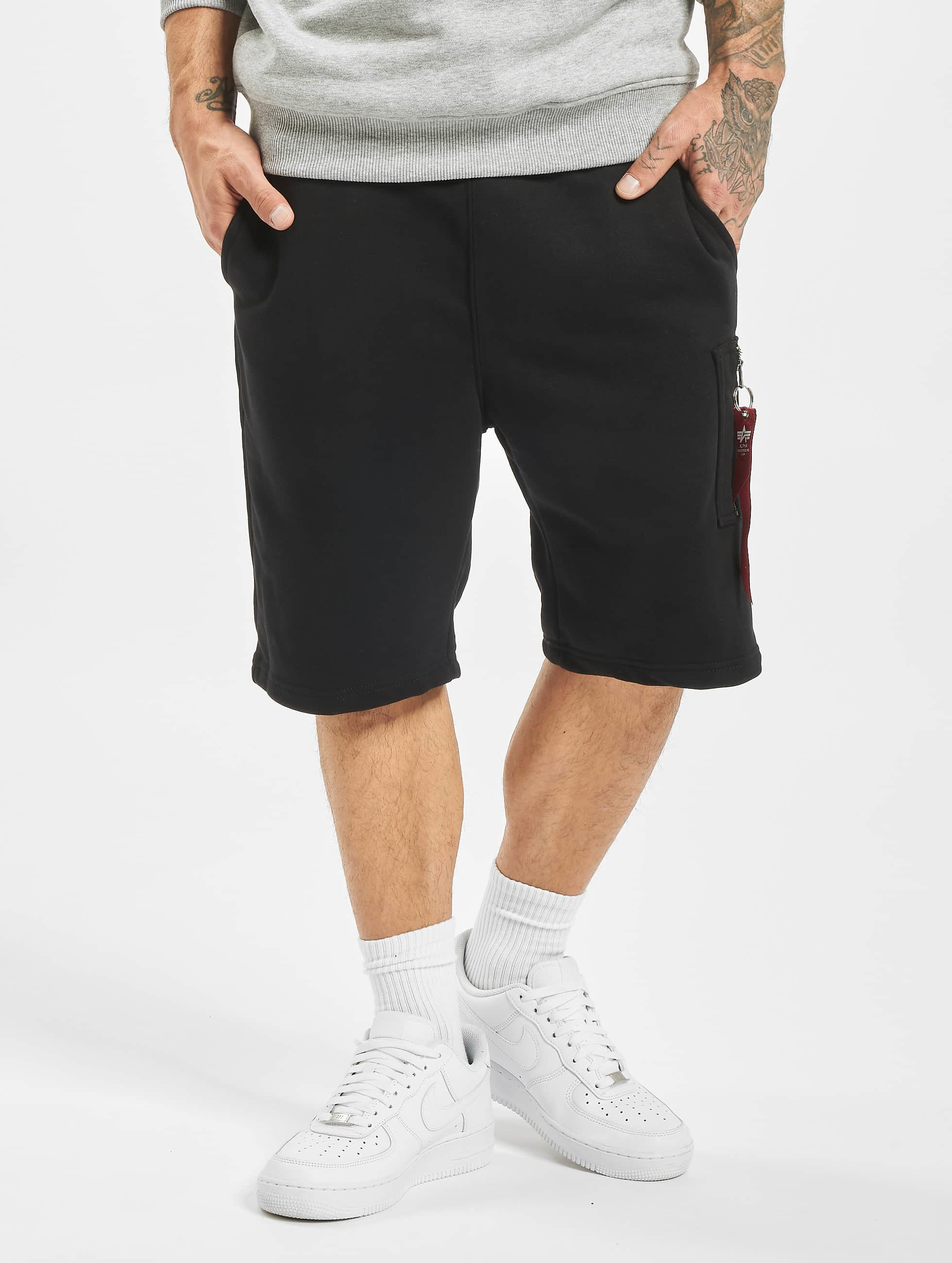 Alpha-Industries-Uomini-Pantaloni-Shorts-X-Fit-Cargo