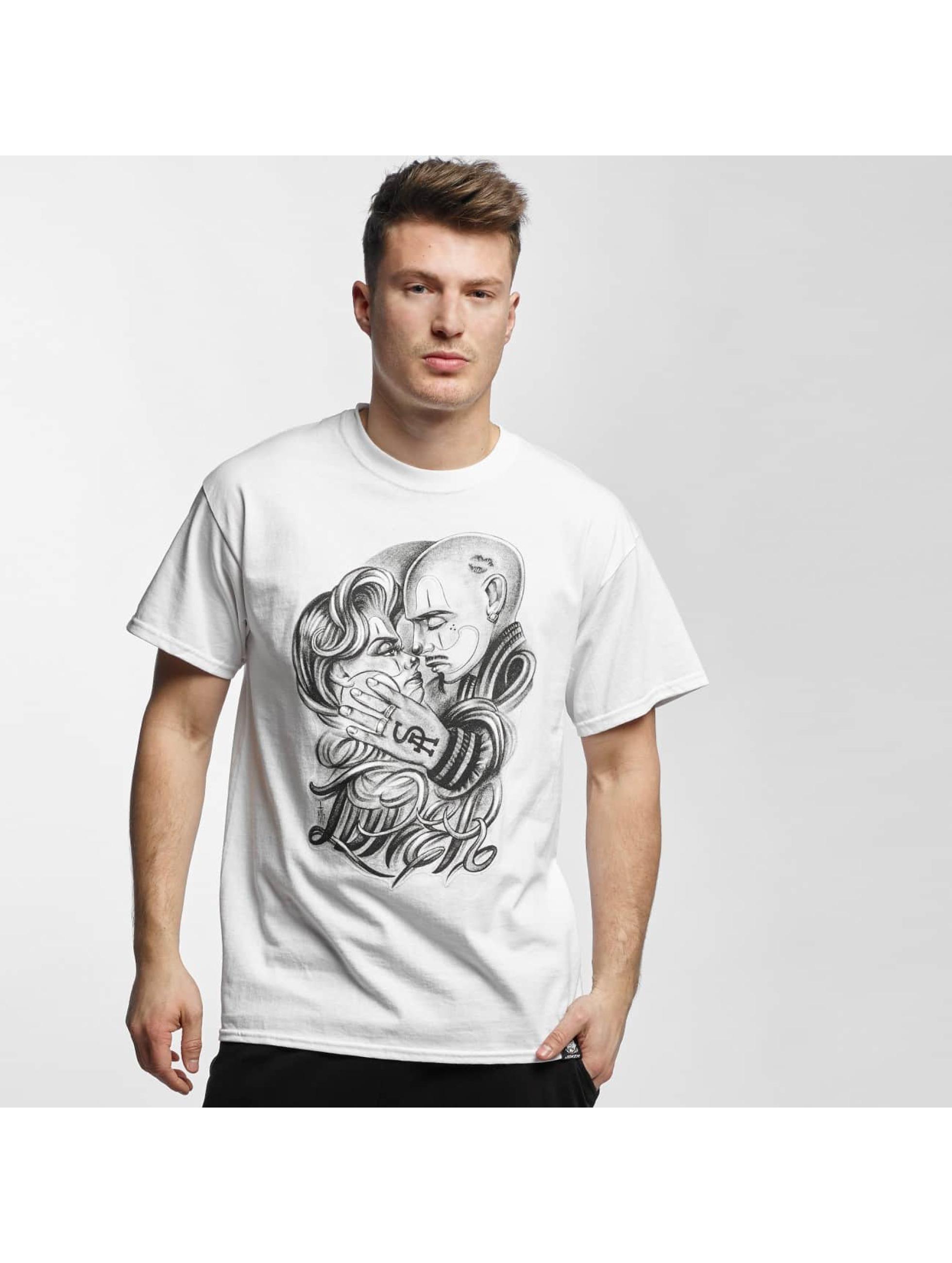 Joker-Uomini-Maglieria-T-shirt-Love