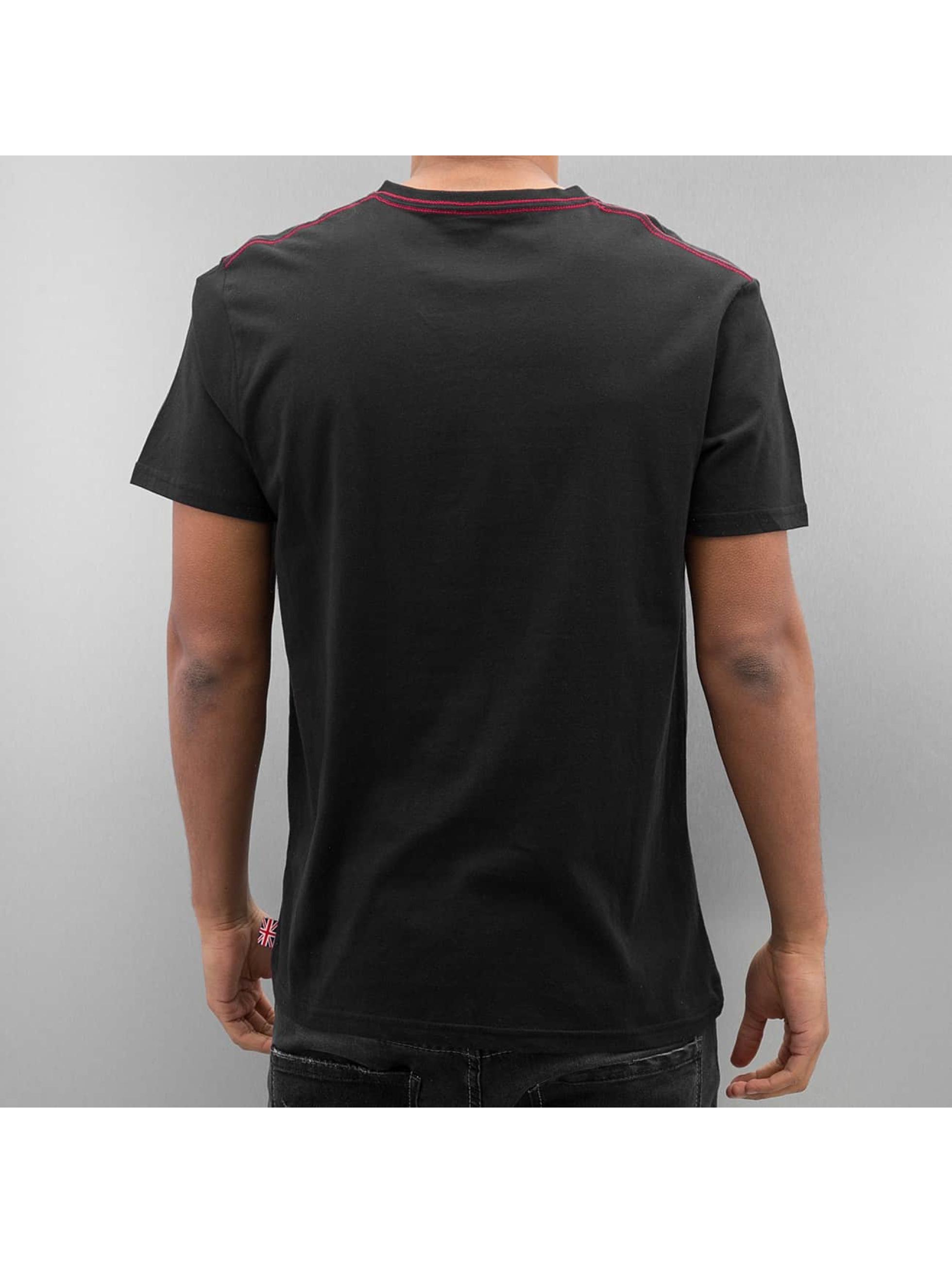 Lonsdale-London-Uomini-Maglieria-T-shirt-Denholm-nero-316120-S