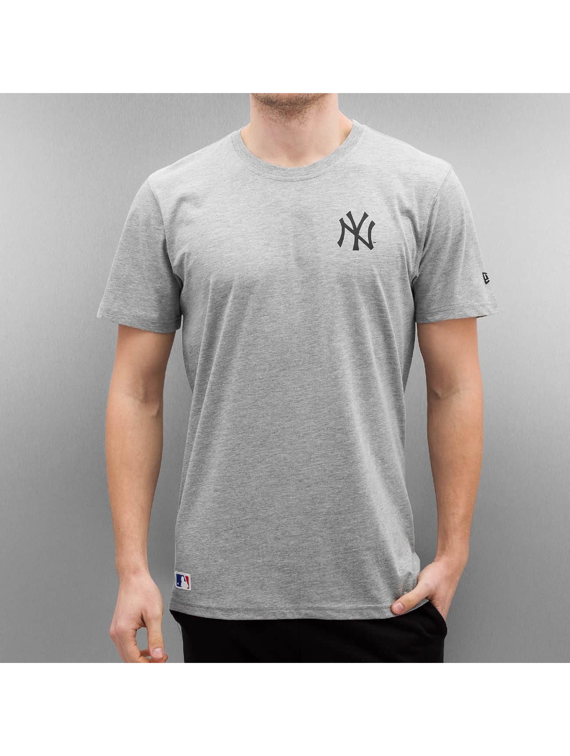 New-Era-Uomini-Maglieria-T-shirt-Team-Apparel-NY-Yankees