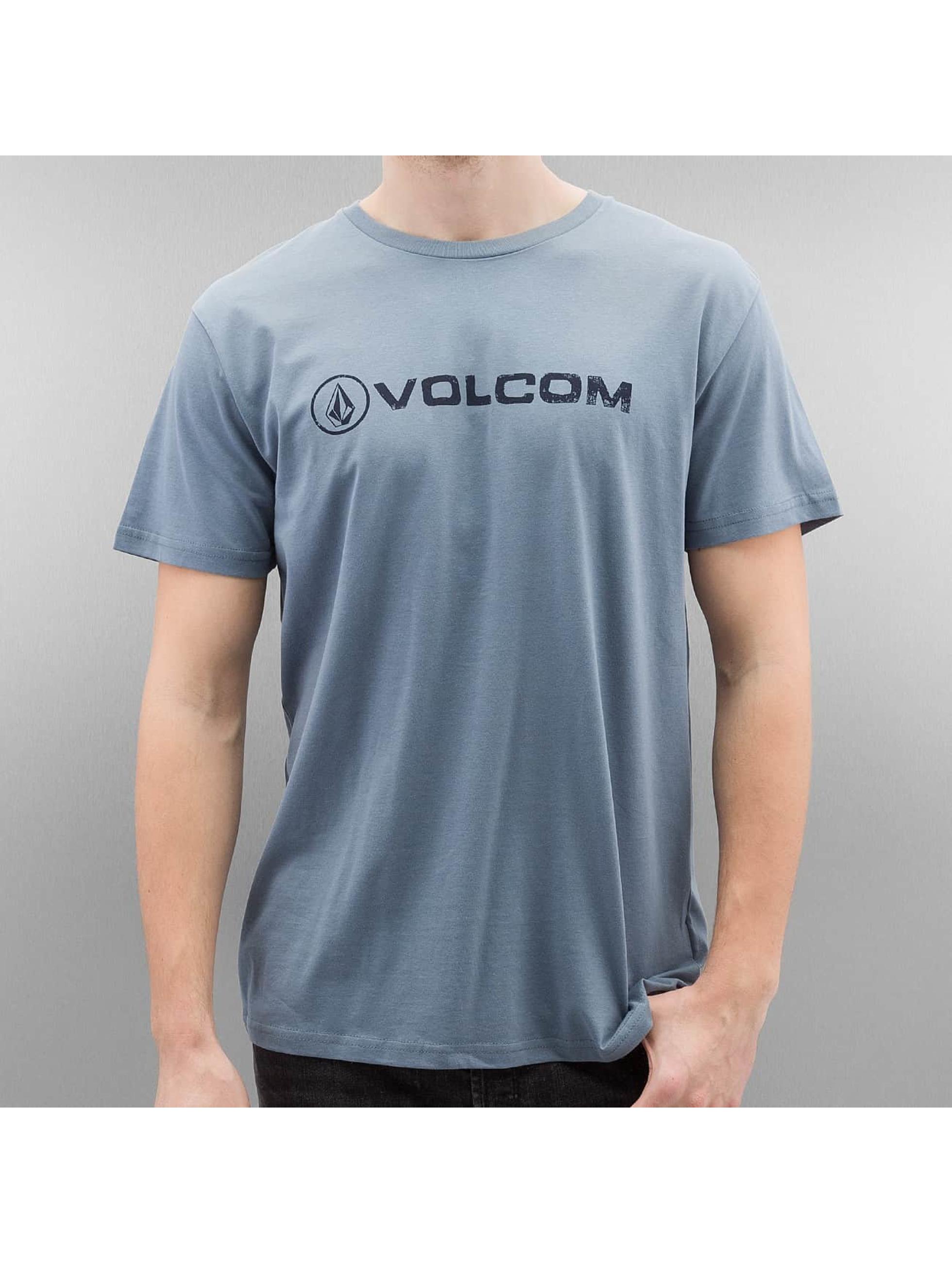 Volcom-Uomini-Maglieria-T-shirt-Linoeuro-Basic