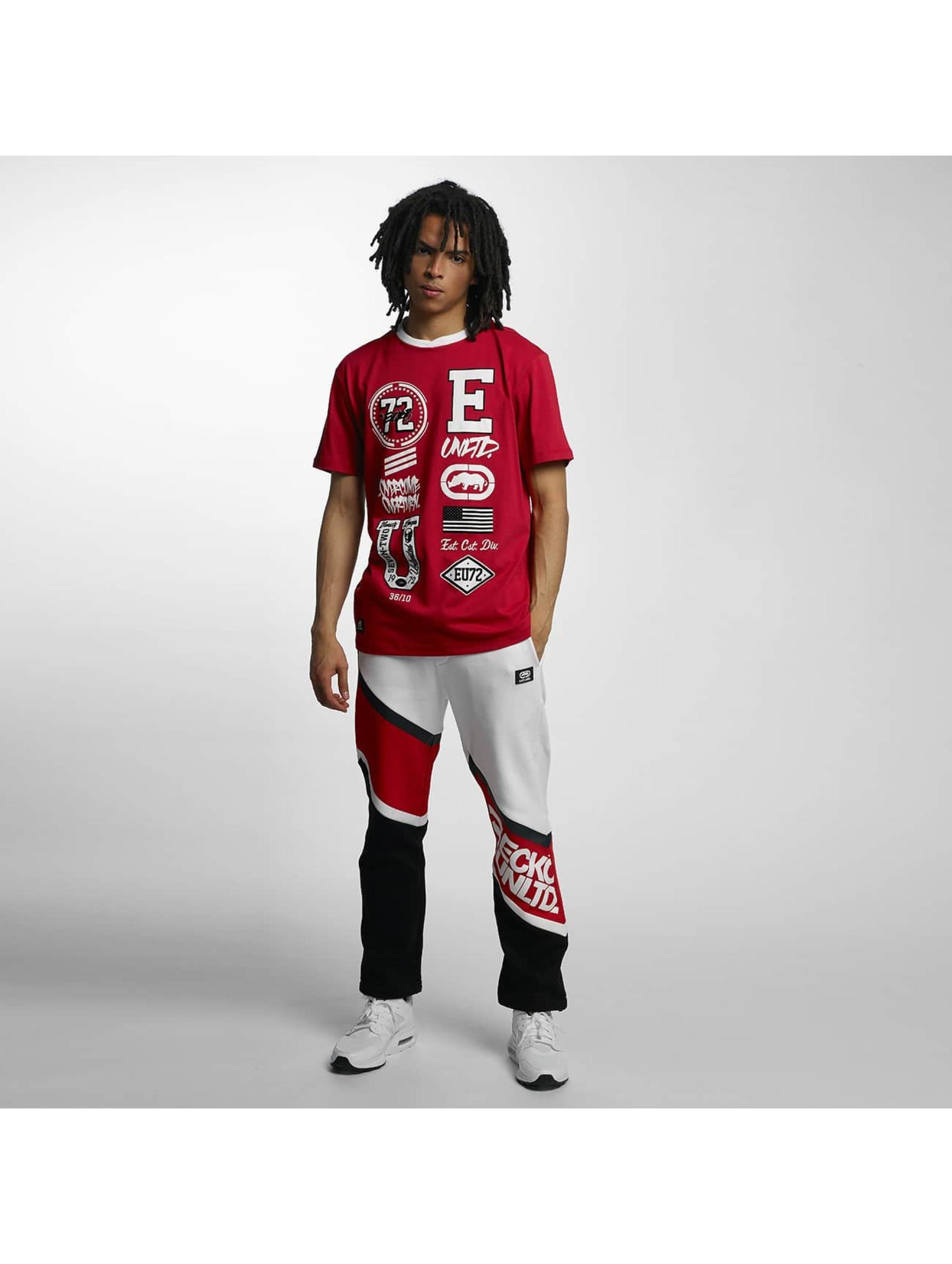 Ecko-Unltd-Uomini-Maglieria-T-shirt-College-Patches
