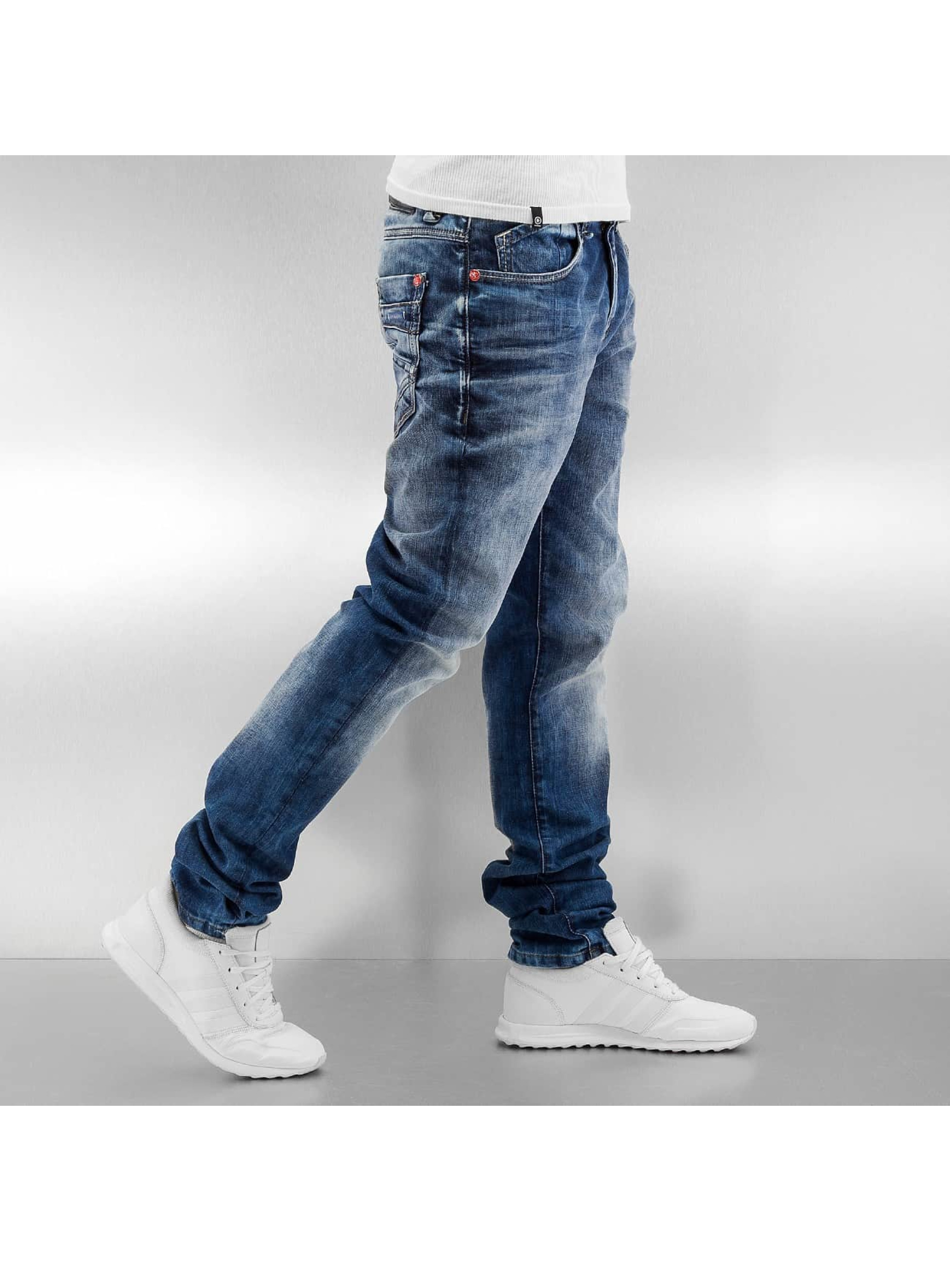 Cipo-amp-Baxx-Uomini-Jeans-Jeans-straight-fit-Washed-blu-344048-W-30-L-34