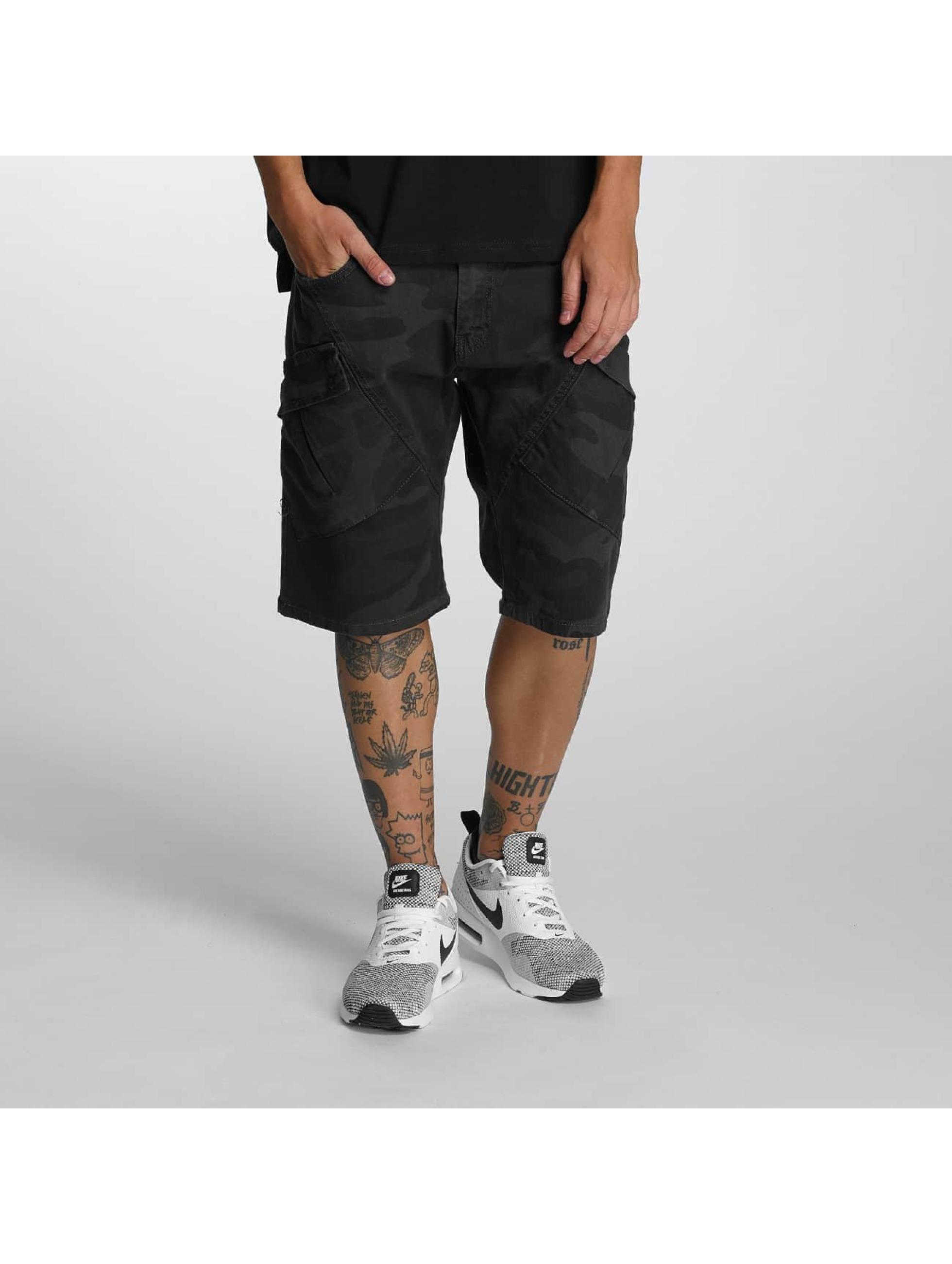 Bangastic-Uomini-Pantaloni-Shorts-Camou