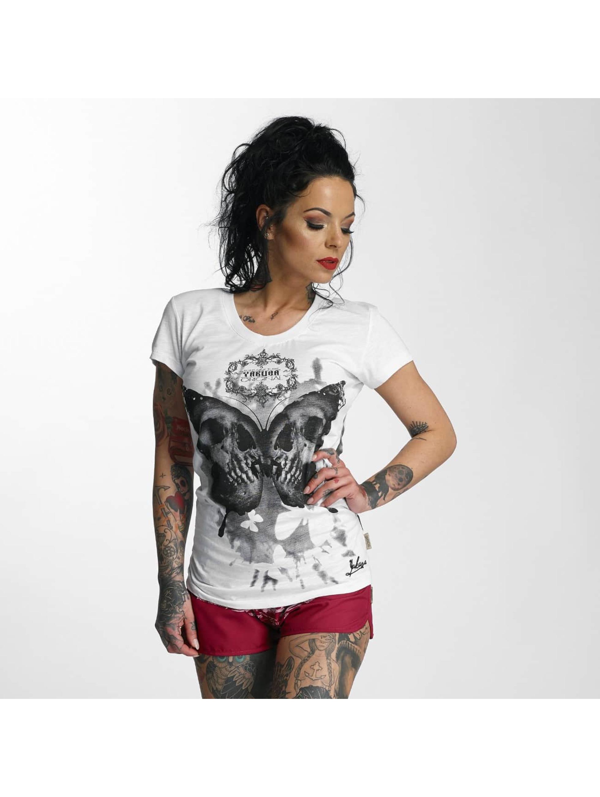 Yakuza-Donne-Maglieria-T-shirt-Butterfly