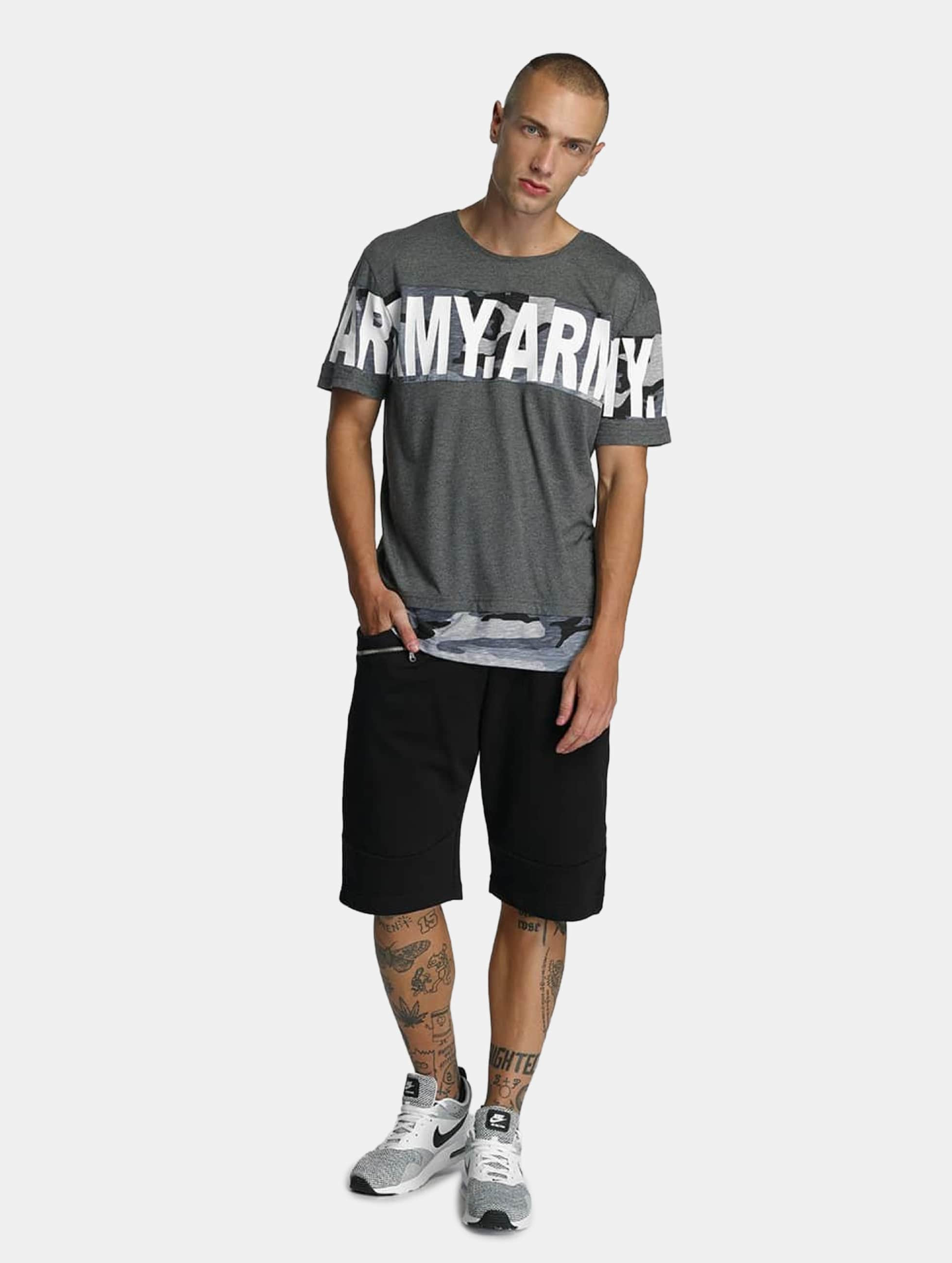Bangastic-Uomini-Maglieria-T-shirt-Army