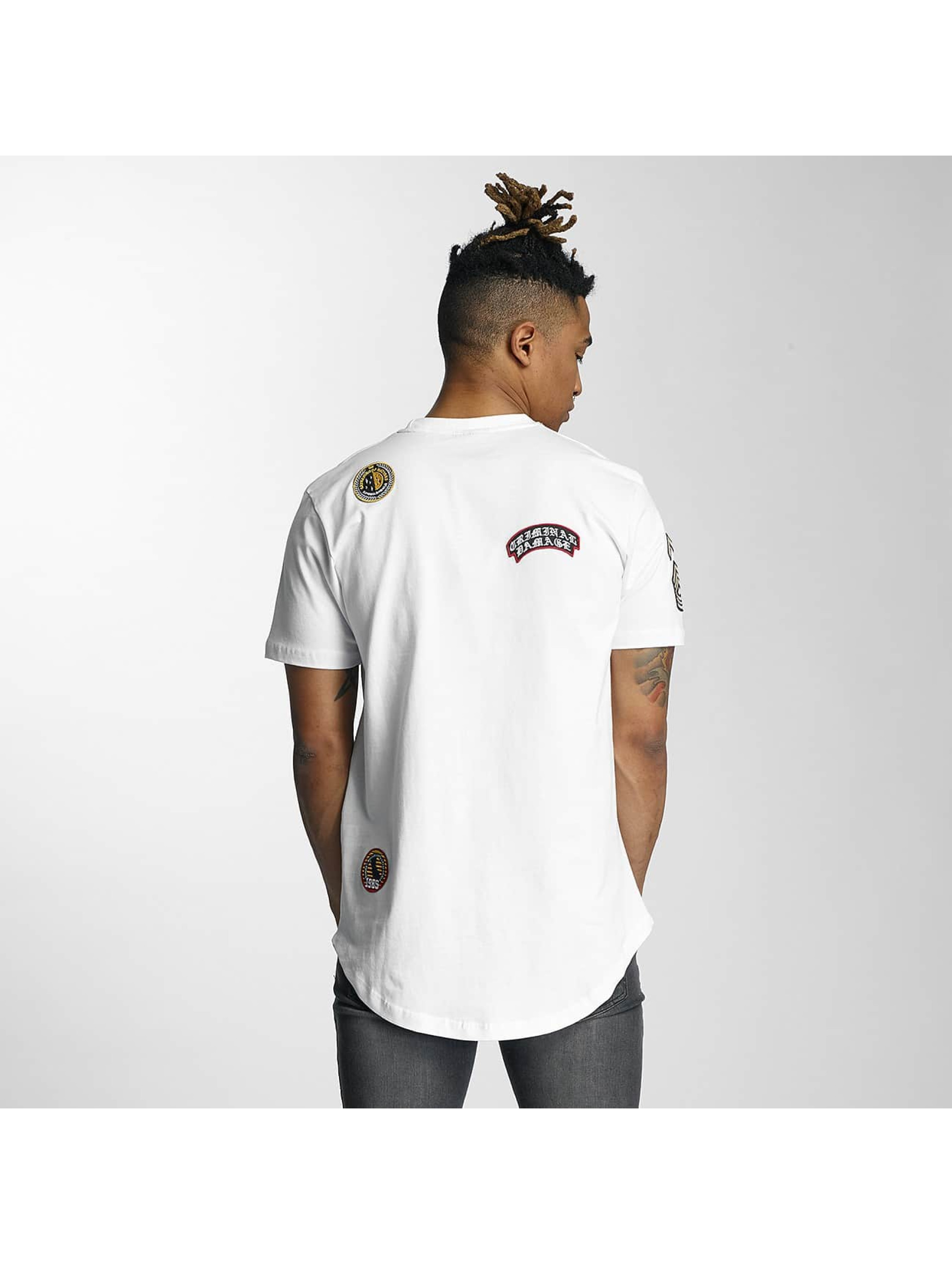 Criminal-Damage-Uomini-Maglieria-T-shirt-Emblem
