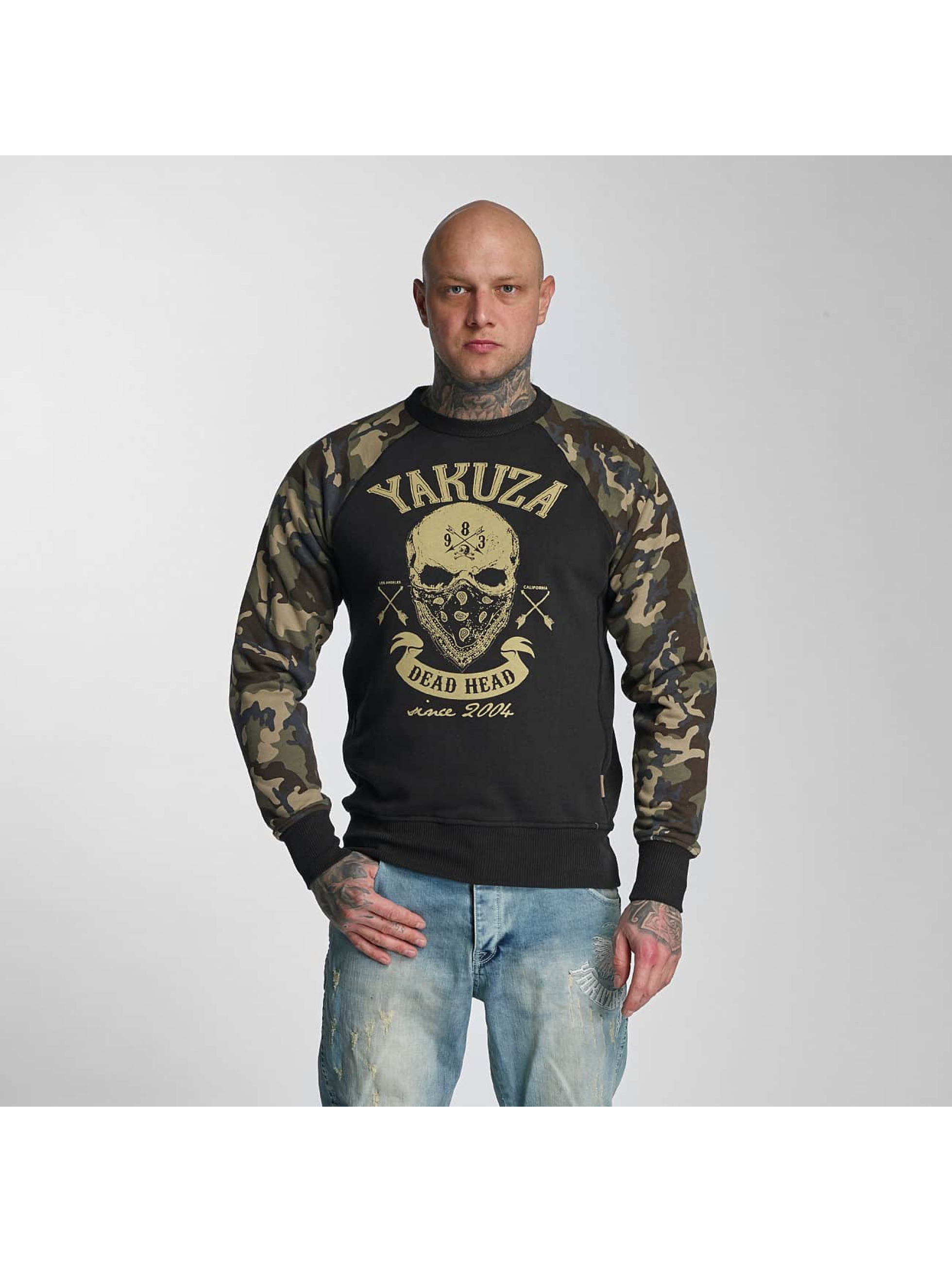 yakuza herren oberteile pullover dead head ebay. Black Bedroom Furniture Sets. Home Design Ideas