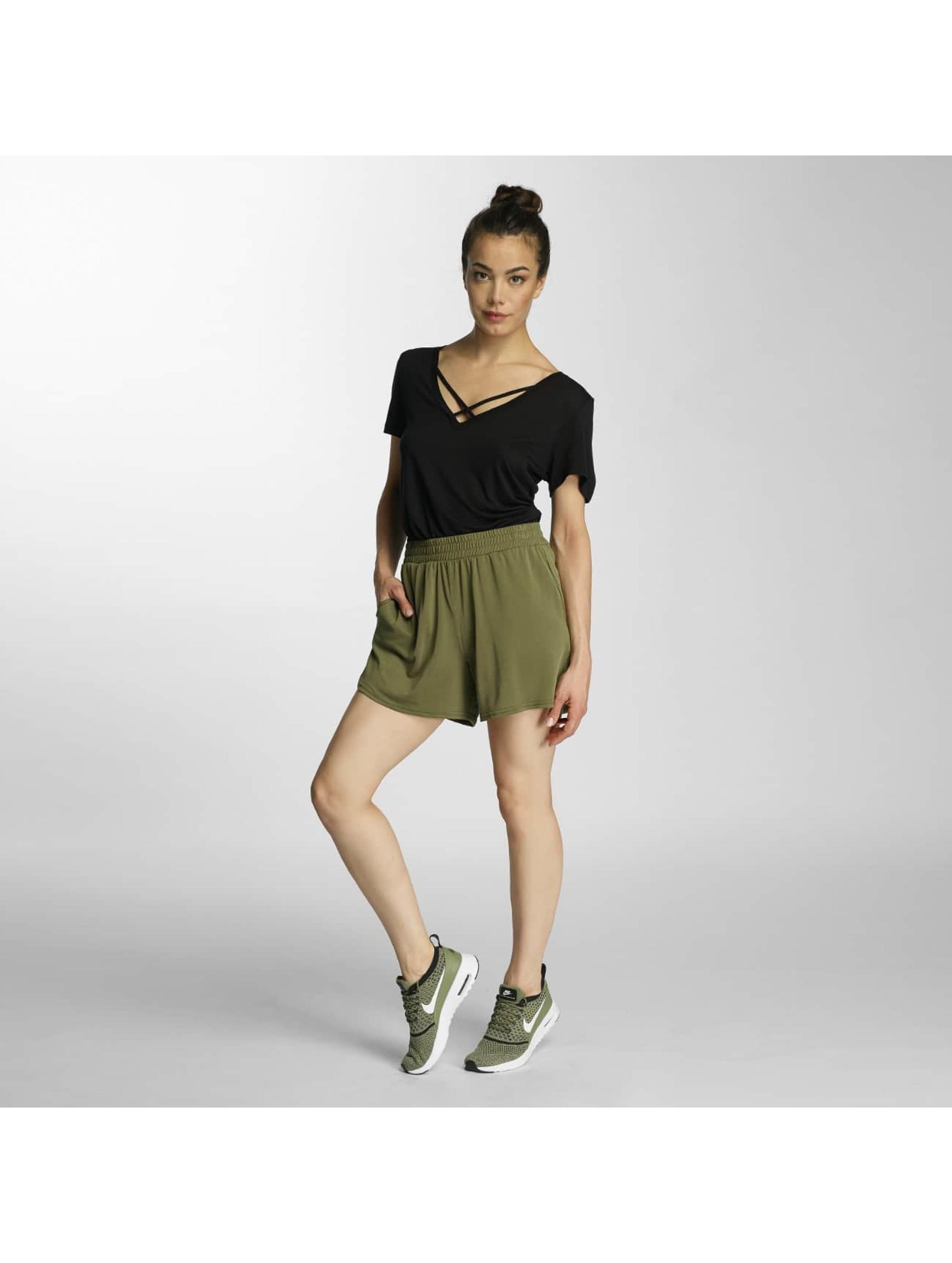 Vero-Moda-Donne-Pantaloni-Shorts-vmMetti-cachi-366655-XL