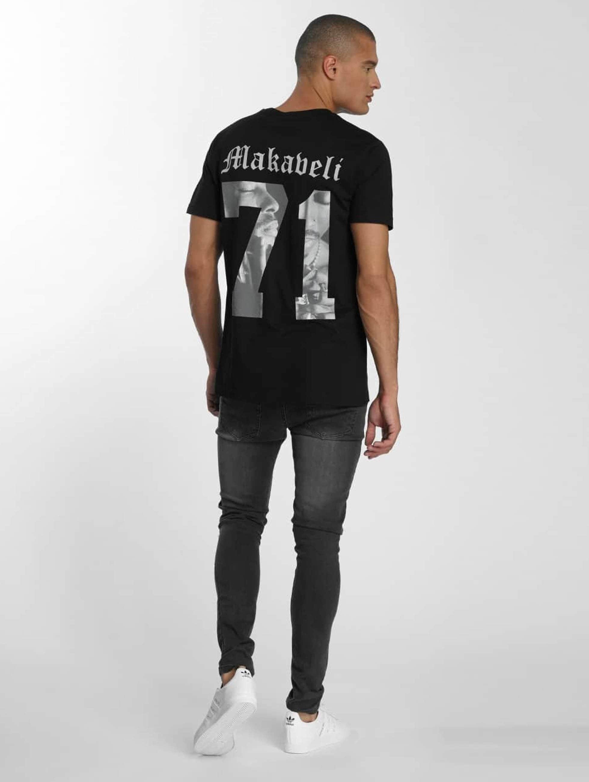 Mister-Tee-Uomini-Maglieria-T-shirt-Tupac-Makaveli