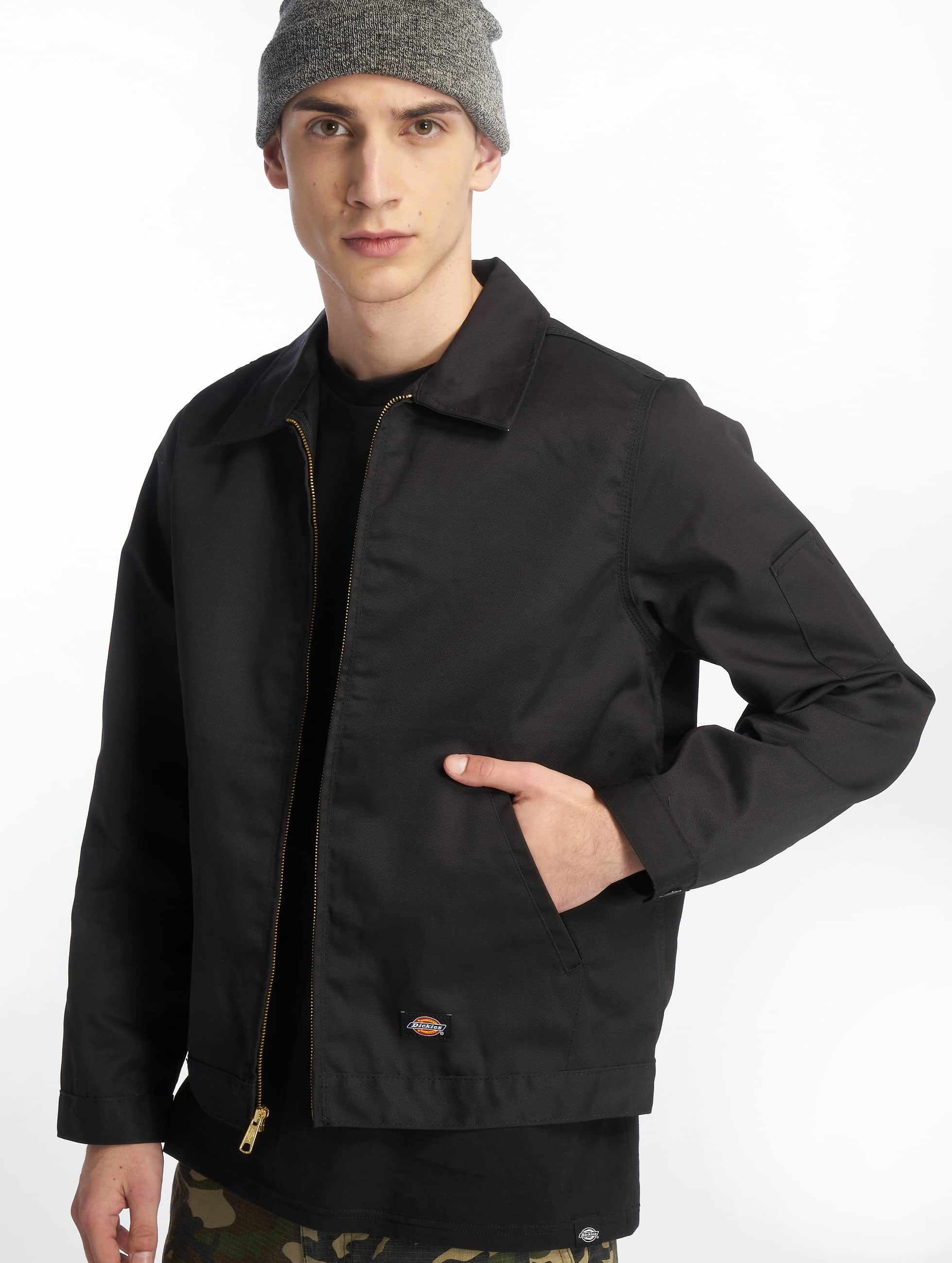 dickies veste blouson veste demi saison unlined eisenhower en noir 45031. Black Bedroom Furniture Sets. Home Design Ideas