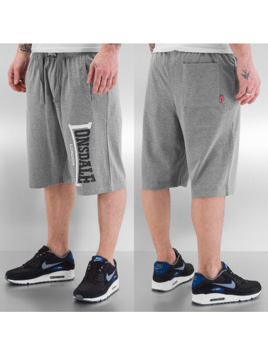 Lonsdale London Logo Jam Shorts Marl Grey