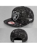 New Era Denim Acid Oakland Raiders 9Fifty Snapback Cap Black/Official Team Color