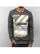 Urban Surface Urban Jungle Sweatshirt Black Melange kopen