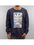 adidas Back To School Tongue Label Crew Sweatshirt Legend Ink