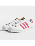 adidas Superstar Founda Sneakers White-Bold Pink-White