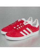 Adidas Gazelle Sneakers Power Red--White-Goldmetallic