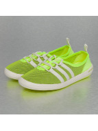 adidas ClimaCool Boat Sleek Sneakers Halo-Chalk White-Solar SLime
