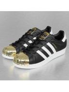 Adidas Superstar Metal Toe W Sneakers Core Black-Ftwr white-Golden Metallic