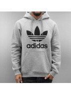 Adidas Originals Trefoil Hoody Medium Grey Heather-Medium Grey Heather