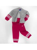 Adidas Fleece Superstar Suit Medium Grey Heather-Unity Pink