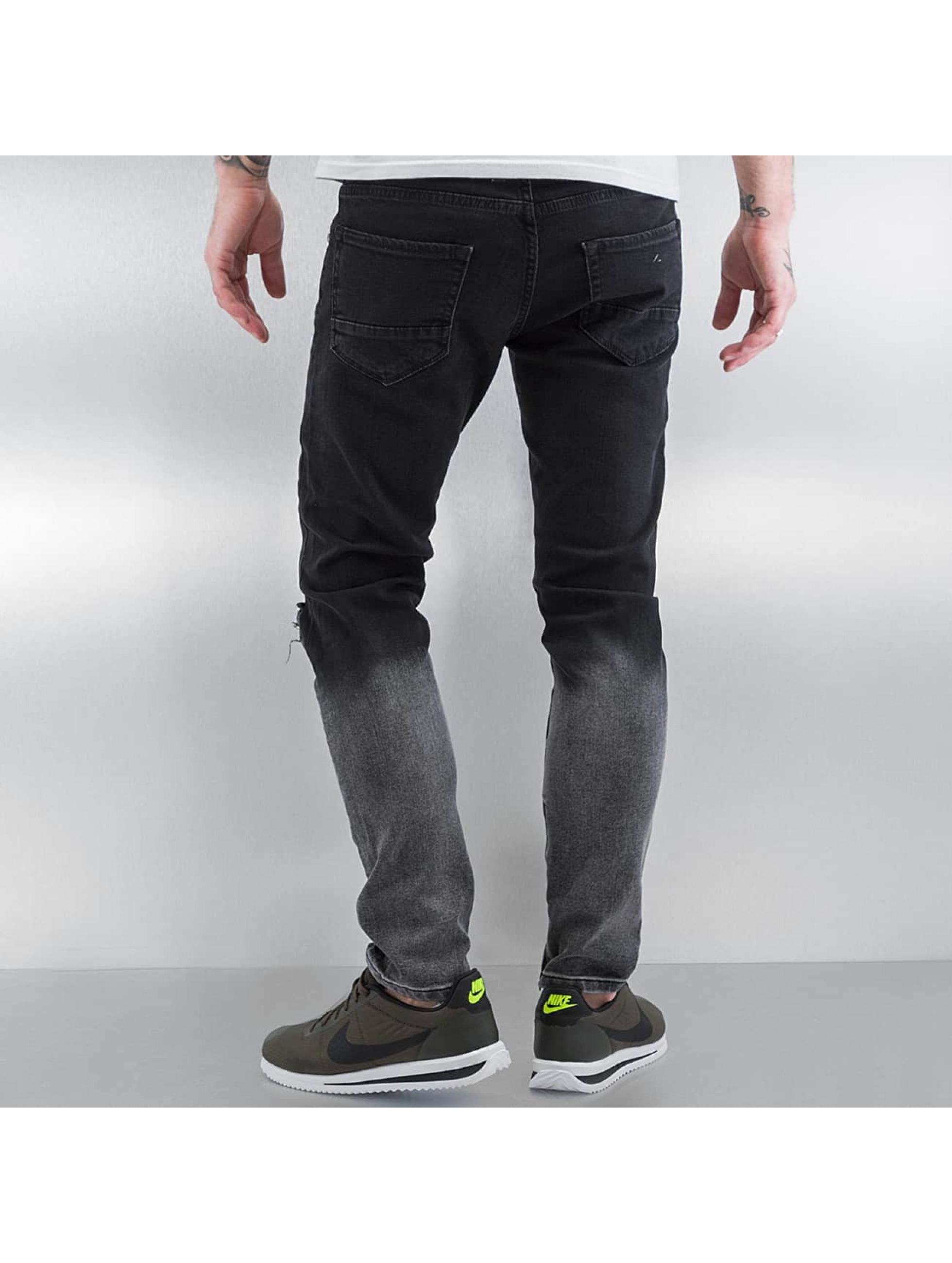 2Y Skinny Jeans Two Tone black