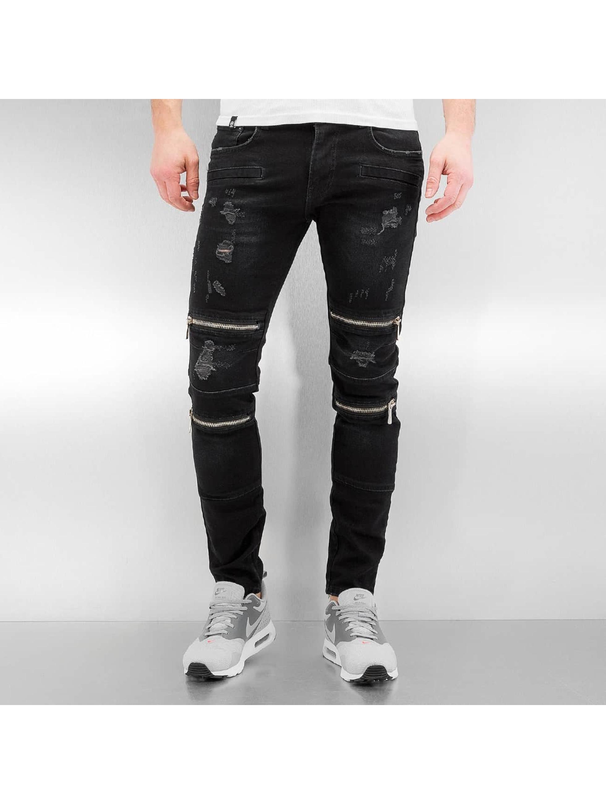 2Y Skinny Jeans Braga black